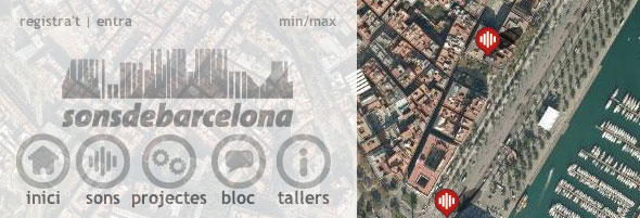 Barcelona Sound Map