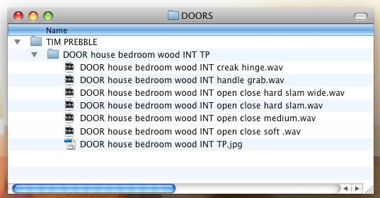 Door files