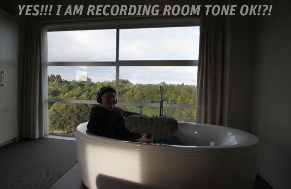 Interior ambience recording