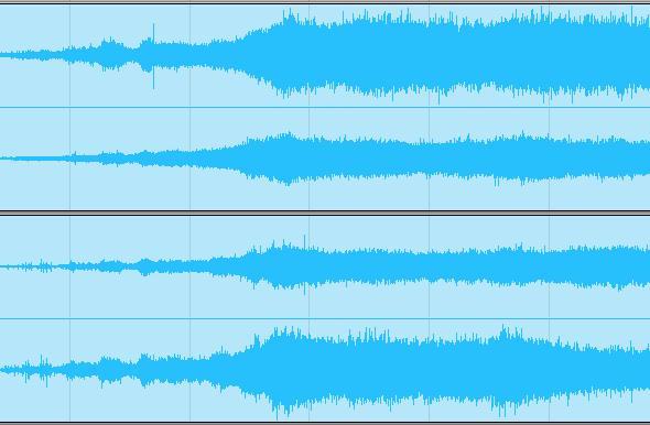 Samoa Rain waveforms