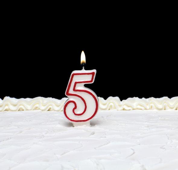Happy 5th Birthday Music Of Sound